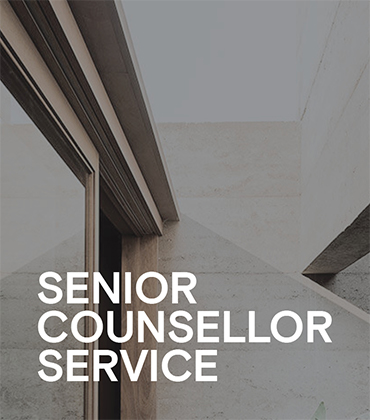 Senior Counsellor service